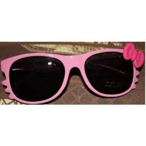 Cute Costume Girls Womens Hello Kitty Sunglasses Bow Tie