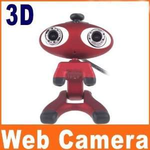 com pc usb 2.0 3d webcam skype msn video chat web camera Electronics