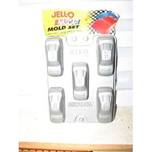 Jello Nascar Race Car Mold Set
