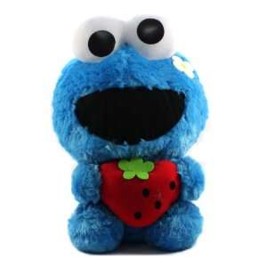 Furyu Official Sesame Street Cute Strawberry Big Plush