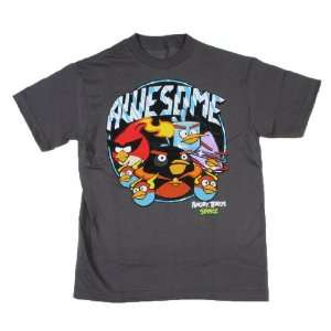Angry Birds Space Awesome Domination Boys Shirt Size4 5