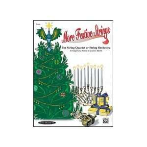 Alfred 00 0971 More Festive Strings for String Quartet or