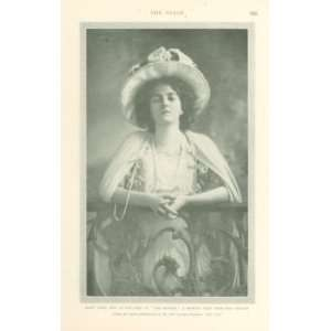 1908 Print Actress Elsie Janis: Everything Else
