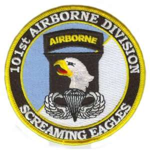 101st Airborne Division Patch with Jump Wings: Everything