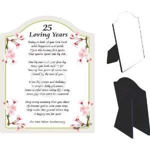 Gift for your Loved One Item #CFS 57P 426 (poem for anniversary, 25th