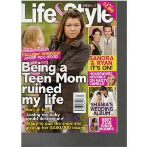 Life & Style Magazine (Amber Portland Being a teen mom