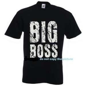 Funny Adult T shirt Big Boss Shirt T Shirt XL Black
