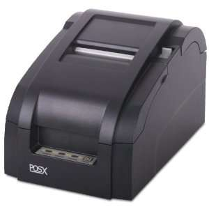 IMPACT RECEIPT PRINTER AUTOCUT, USB & CABLE, BLACK