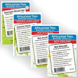 Appalachian Trail Pocket Profile   Entire Set Sports