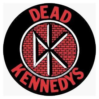 Dead Kennedys   Round Fresh Fruit Logo on Bricks   Sticker