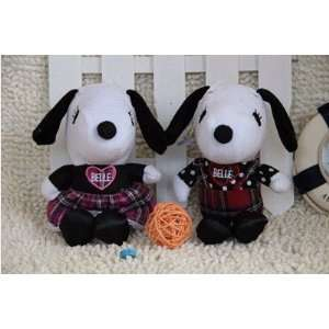 cute dogs plush toy 80g/piece 12piece/lot high quality pp