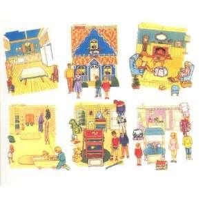 Betty Lukens Feltbook Activity Kit   Home & Family