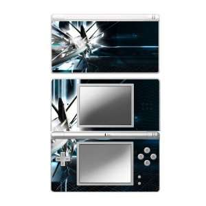 DS Lite Skin Decal Sticker   Abstract Tech City