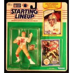 JOE MONTANA / SAN FRANCISCO 49ERS 1990 NFL Starting Lineup