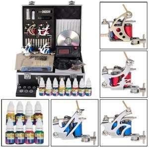 Cartoon Film Transformers Style 4 Guns Tattoo Tattooing Machine Kit