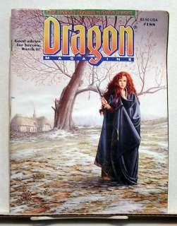 Dragon Magazine #188  RPG Game/Gaming/ D&D/Fantasy/War