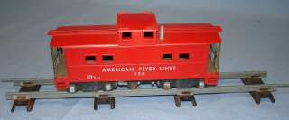 Gilbert American Flyer Lines 3 16 Scale Trains Red Caboose 638