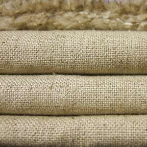 LINEN COTTON 15oz HEAVY MUSLIN FABRIC NATURAL OATMEAL