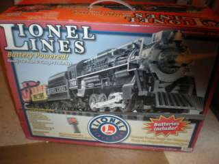 LIONEL LINES BATTERY POWERED G GAUGE TRAIN SET NIB