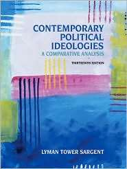 Contemporary Political Ideologies A Comparative Analysis, (053460241X