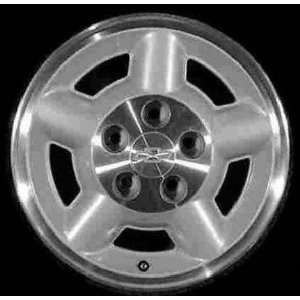 97 02 GMC SONOMA PICKUP ALLOY WHEEL (PASSENGER SIDE)  (DRIVER RIM 15