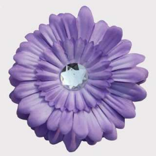 60pcs Girls Baby GERBER 4 Daisy Flower Hair Bow clip