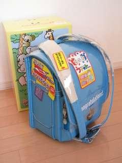 New Japanese school backpack RANDOSERU in light blue color