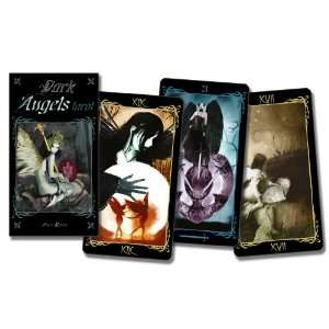 Dark Angels Tarot Deck (9780738720715) Lo Scarabeo Books