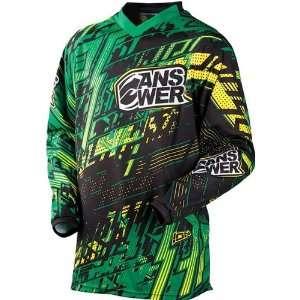 Motocross/Off Road/Dirt Bike Motorcycle Jersey   Yellow/Green / Large
