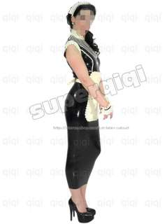 Latex/rubber .45mm Maid Uniform dress suit catsuit sexy