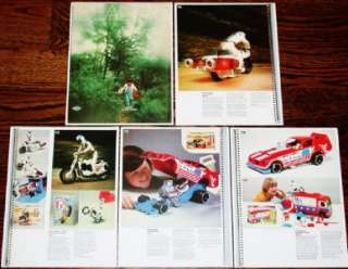 1976 EVEL KNIEVEL Ideal DEALER CATALOG PGS Stunt Cycle
