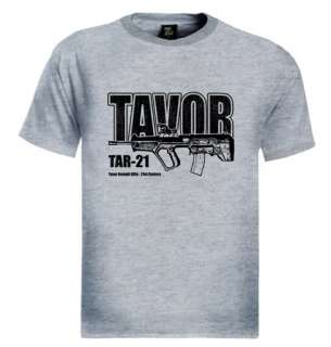 Tavor Assault Rifle T Shirt Gun israel army military