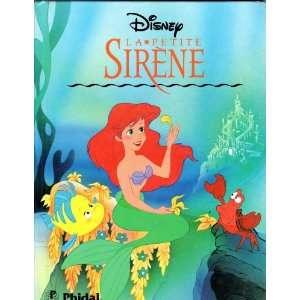 Sirene [French   Little Mermaid] (9782893931531) Walt Disney Books