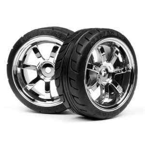 4738 Mounted T Grip Tire 26mm Rays 57S PRO Wheel Chrome Toys & Games