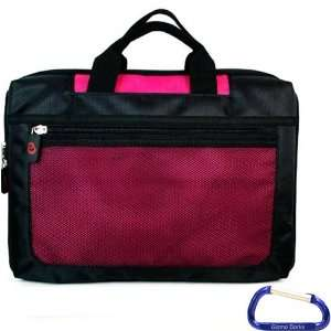 High Quality Nylon (Hot Pink) Laptop Carrying Case for the Samsung Go