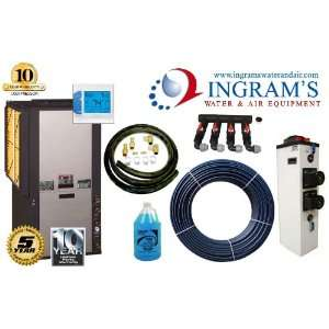 2 Stage Geothermal Heat Pump 3 Ton Install Package for