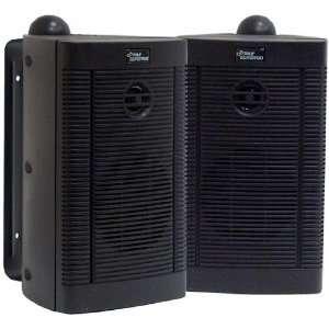3.5 Two Way Bass Reflex Wall Mount Mini Monitor System