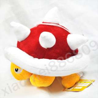 Super Mario Bros Spiny 8 soft plush toy doll M28