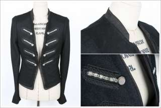 Vintage Wool Military Womens Clothing Michael Jackson Jackets Coats