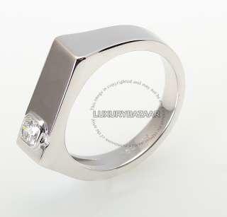Hearts on Fire 18K White Gold & Diamond Mens Commanding Dream Ring