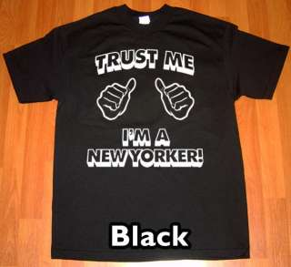 trust me im a NEW YORKER MEN T Shirt retro vintage tee