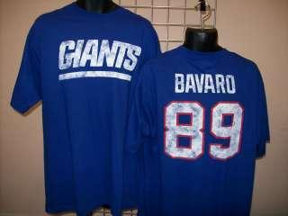 New York Giants Mark Bavaro Jersey T Shirt sz Small