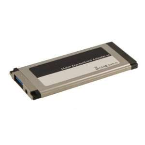 Single Port SuperSpeed USB 3.0 ExpressCard Recessed with Full Power