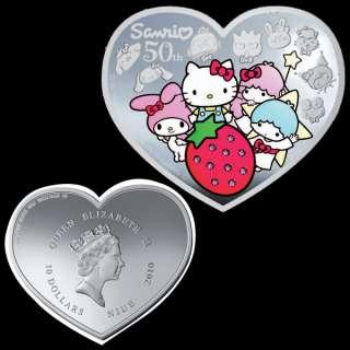 Niue 2010 10$ SILVER Hello Kitty 100g Coin