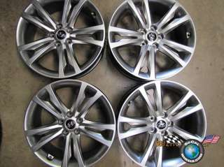 Four 09 11 Hyundai Genesis Coupe Factory 19 Wheels OEM Rims 70790