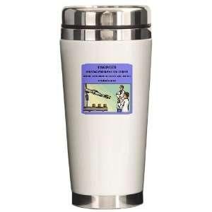engineer engineering joke Funny Ceramic Travel Mug by