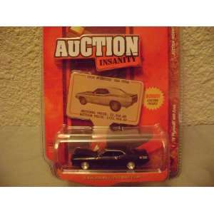 Johnny Lightning Auction Insanity 1970 Plymouth AAR Cuda: Toys & Games