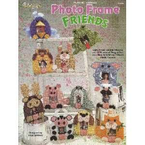 Plastic Canvas Photo Frame Friends: Vicki Blizzard: Books