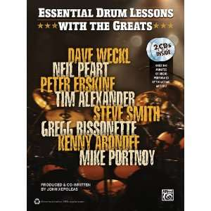 Drum Lessons with the Greats    Complete (Book & CD