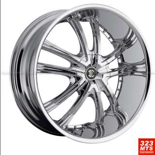 24 2CRAVE #21 TAHOE DAKOTA F150 WHEELS CHEVY GMC YUKON CADILLAC